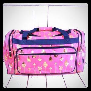 Gold Arrow Duffle Bag
